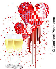 celebração, cartão