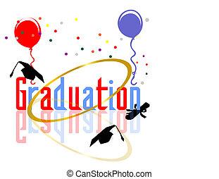 celebrações, graduar
