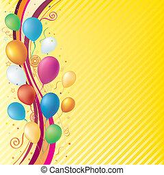 celebración, plano de fondo