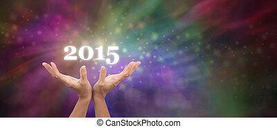 celebración, y, bienvenida, en, 2015
