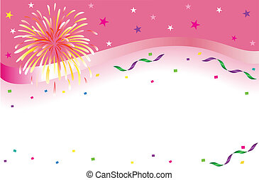 celebración, y, estandarte de la fiesta
