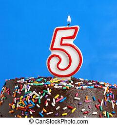 celebrando, cinco, anos