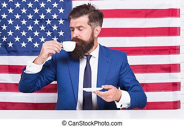 celebrar, patriótico, idioma, político, estados unidos de ...