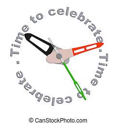celebrare, tempo