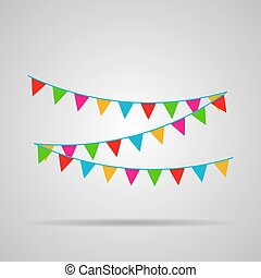 Celebrate flags