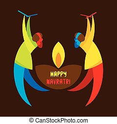 celebrate navratri festival design