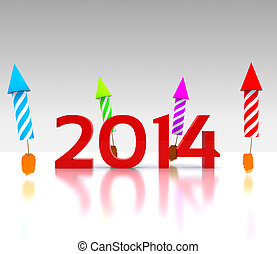 Celebrate the new year - 2014