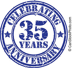 Celebrating 35 years anniversary gr