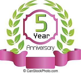 Celebrating 5 Years Anniversary