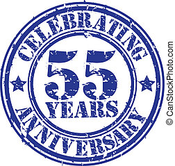 Celebrating 55 years anniversary gr