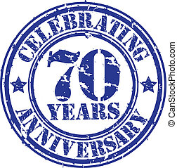 Celebrating 70 years anniversary gr