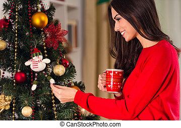 Celebrating Christmas at home