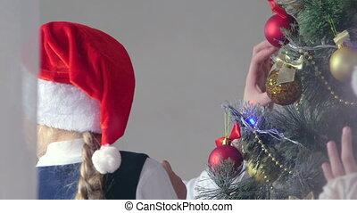 celebrating Christmas holidays