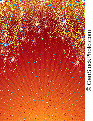Celebration Backdrop - Festive colorful vector background ...