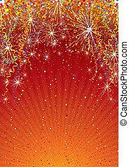 Celebration Backdrop - Festive colorful vector background...