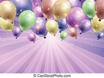 celebration background with balloons 0103
