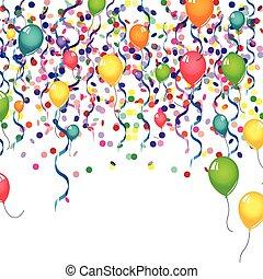 Celebration balloon card