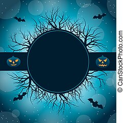 Celebration Card for Halloween Party