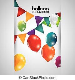 balloon icon design