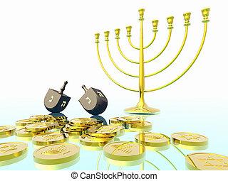 celebration., hanukkah
