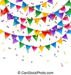 Celebration stationery card template on white vector image