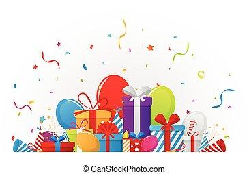 celebrazione compleanno, elementi
