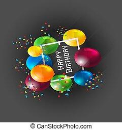celebrazione compleanno, fondo