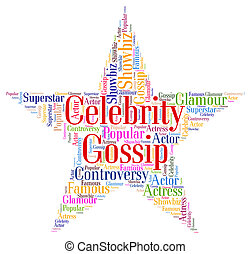 Celebrity Gossip Means Chat Room And Fame - Celebrity Gossip...