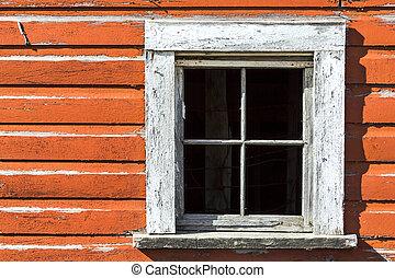celeiro, janela