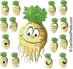 celery cartoon