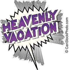 celeste, vacanza