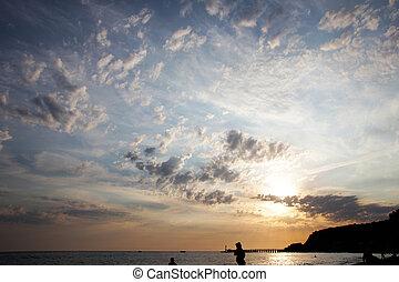 celestial, paisagem