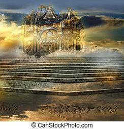 celestial, palacio