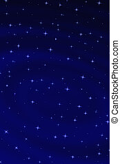 Celestial Stars - Celestial background showing a star filled...