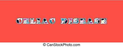 Celiac Disease Concept Word Art Illustration