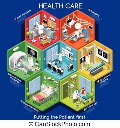 cellák,  01,  isometric,  Healthcare