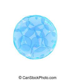 cell, ägg, 16