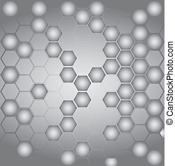 Cell connection Vector Graphics.