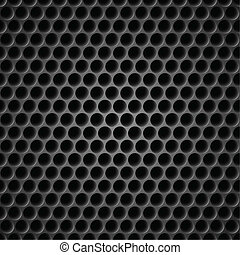 Cell metal background - Black Cell Metal Background....