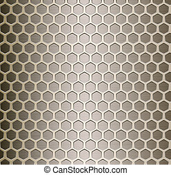 Cell metal background