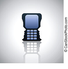 Cell phone and communication