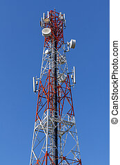 Cell Phone Antenna Tower.