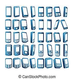 cell telefoniert