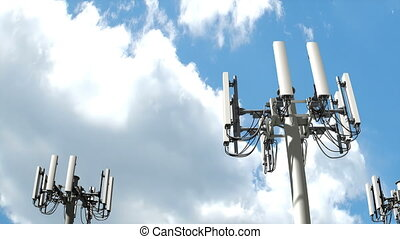 """""""Cell tower, Mobile telecommunication tower"""""""