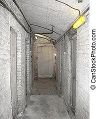 Old underground cellar
