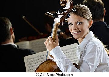 cellist, コンサート