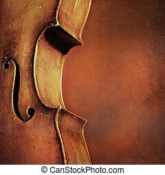 cello, ouderwetse , achtergrond