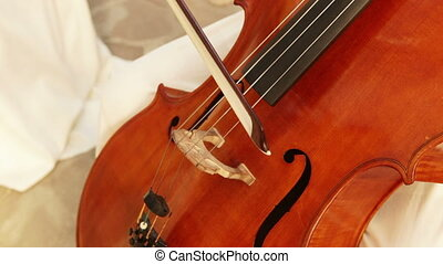 Cello - Playing the cello
