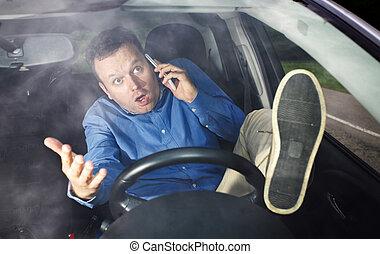 cellphone, bestuurder