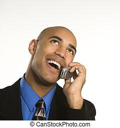 cellphone., ember